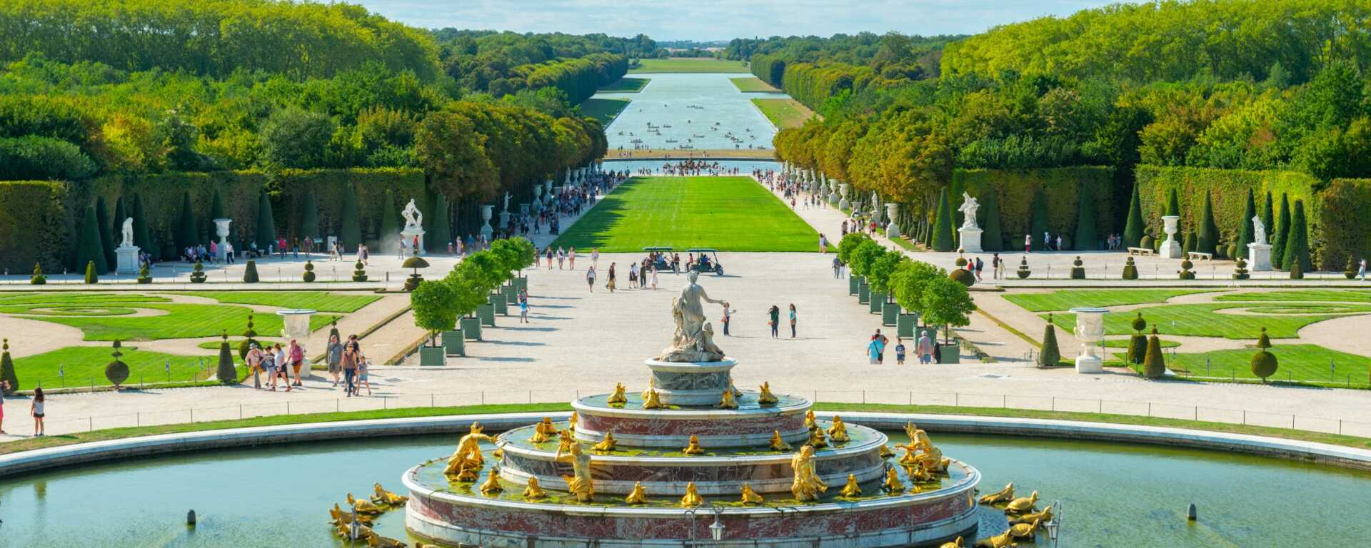 Palais et parc de versailles - Jardin du chateau de versaille ...